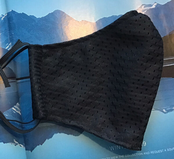 Athletic Mesh Cool Breathable light weight Face Mask Now With Longer Ties. $9.95