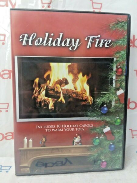 Holiday Fire With Christmas Carols DVD By Holiday Fire FREE SHIPPING