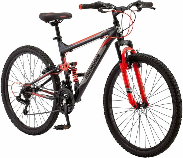 Mongoose Mountain Bicycles 21 speed shifters w Riser handlebar 26 Inch Wheels $409.95