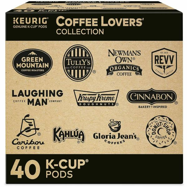 Keurig Coffee Lovers#x27; Collection Sampler Pack Single Serve K Cup Pods NEW
