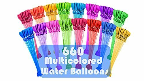 Instant Water Balloons Self Sealing Already Tied 660 Pc Quick amp; Easy Fill $19.99