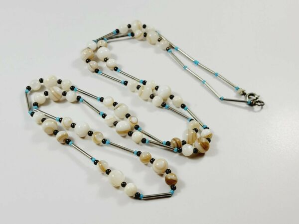32quot; Shell SW Style Beaded Necklace