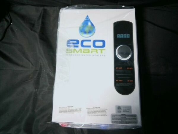 Ecosmart ECO 18 Tankless Electric Water Heater 18 kW 240 V Open Box $299.99