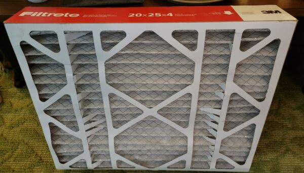 NEW Filtrete 20x25x4 Air Conditioner Furnace Electrostatic Air Filter $24.99