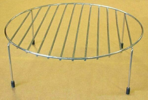 Universal High Baking Rack for Microwave Convection Ovens