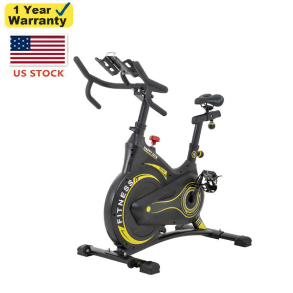 Indoor Exercise Bike LCD Monitor Stationary Cycling Bicycle Fitness Workout $260.99