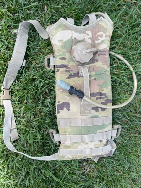 Multicam Hydration Backpack Water Carrier System Army 100oz Pack No Bladder $21.90