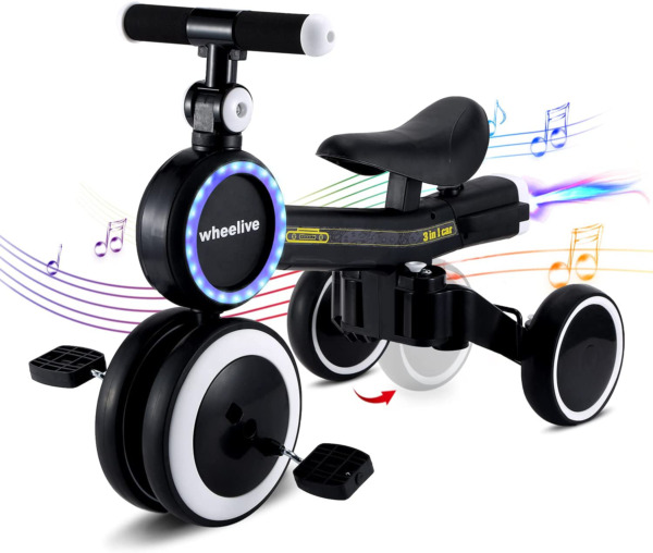 Wheelive Baby Balance Bike 5 in 1 Toddler Tricycle Bike for 10 36 Months Childr $142.06