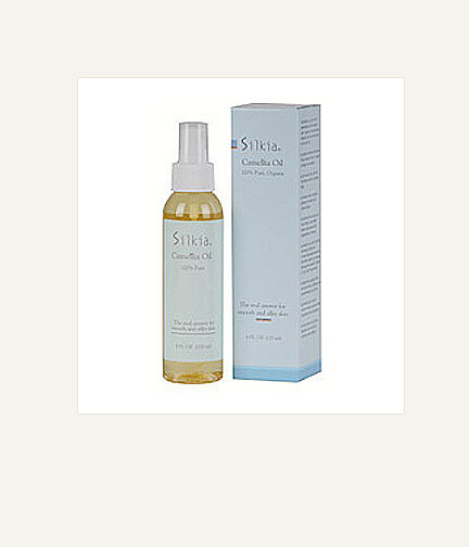 Silkia Camellia Oil for Anti-Aging and Acne Scars! NEW!