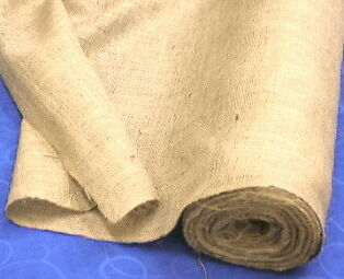 100 yards -- Upholstery Natural Jute Burlap Fabric 40