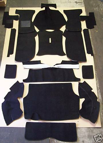 TRIUMPH GT6 MKIII 71-73 BLACK LOOP CARPET KIT