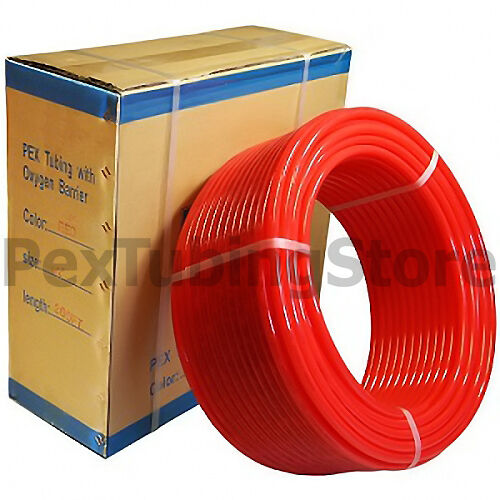 PEX Tubing with Oxygen Barrier for Floor Baseboard Boiler Heating Applications $284.99