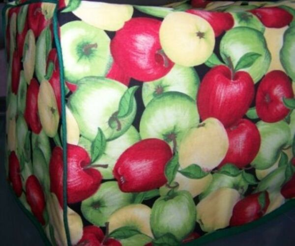 Apple Harvest Quilted Fabric 2 Slice or 4 Slice Toaster Cover NEW