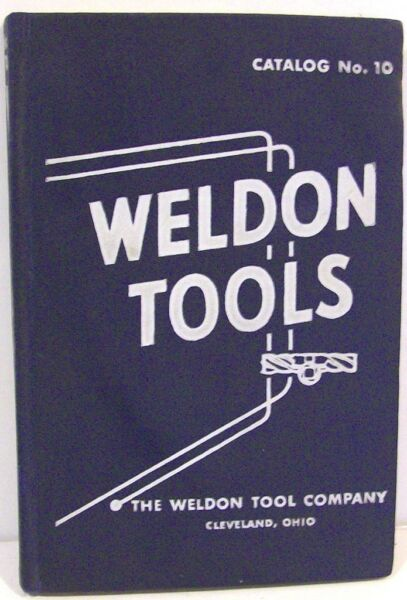 Weldon Tool Co Catalog #10  1952 ~ Milling / Cutting Tools