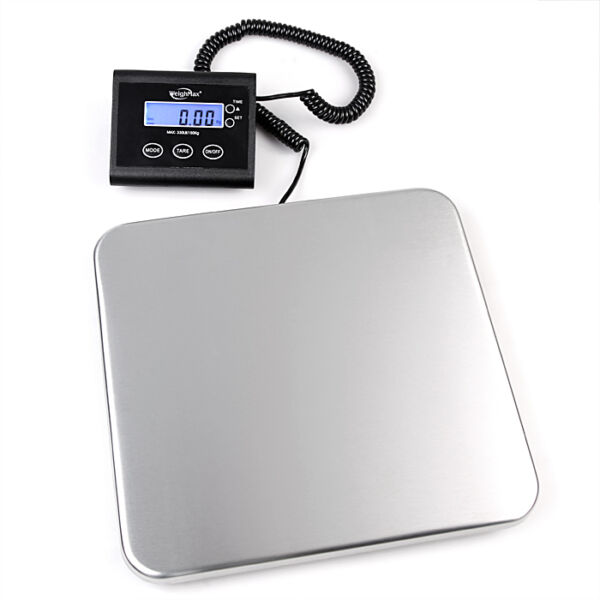 Weighmax 4830 Heavy Duty 330 Lb Digital Shipping Postal Scale 150 Kg