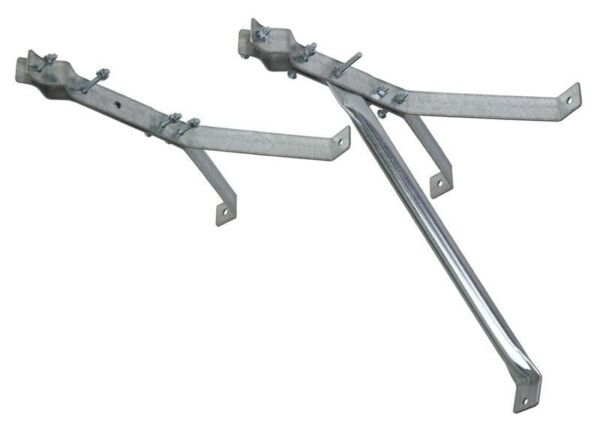 18quot; Stand Off Wall Antenna Mast Mount Deluxe Y Style Bracket EZ 30 18 $45.00