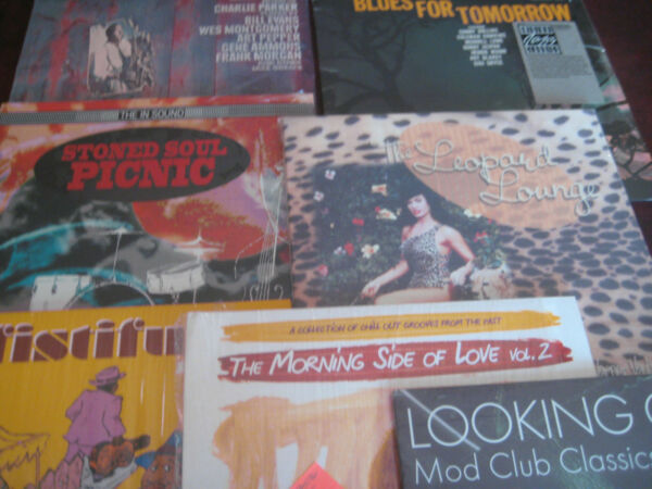 ATLANTIC RECORDS AND MORE RARE JAZZY HITS LP SET VARIOUS ARTISTS SEALED