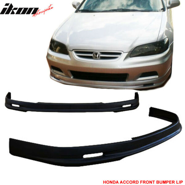 Fits 01-02 Honda Accord Mugen PP Front Bumper Lip Spoiler Body Kit
