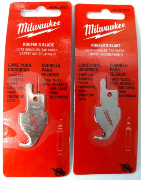Milwaukee Roofers Blade 48-08-0422 For Job Saw Handle Only 2PCS