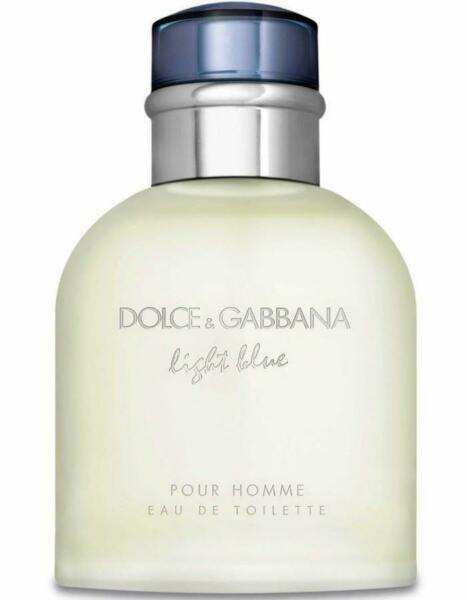 Dolce amp; Gabbana Light Blue edt 4.2 oz Cologne for men NEW tester with cap