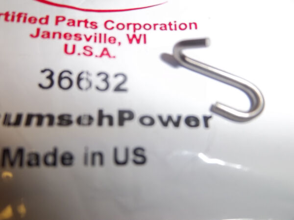 NEW TECUMSEH THROTTLE S HOOK  FITS SNOW BLOWER TILLERS MOWERS 36632 OEM