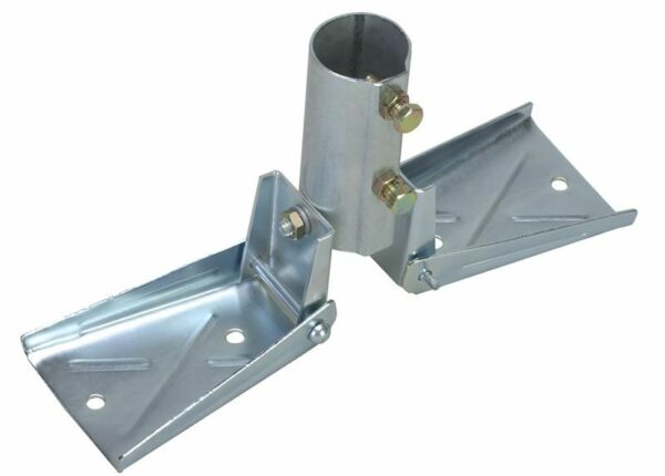 Heavy Duty Roof Mount for Masts up to 1 1 2quot; OD EZ 19 Antenna Mast Peak Mount $24.70