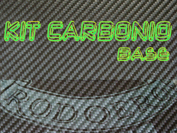 KIT COMPLETO CARBONIO - TWILL - BASE