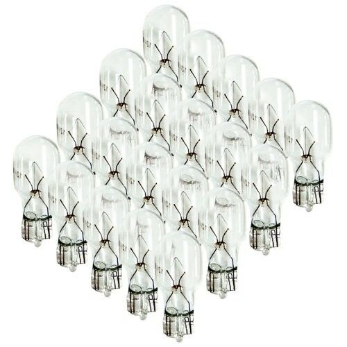 20pk 4 WATT 12v LOW VOLTAGE T5 WEDGE BULBS for ** MALIBU INTERMATIC **