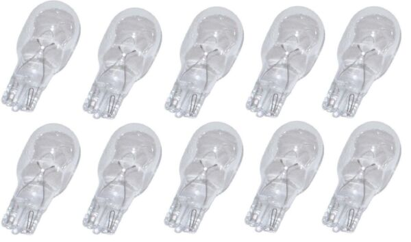 10 Pack 4 Watt Wedge Base 12V Light Bulbs for Malibu