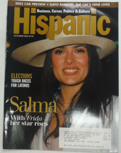 Hispanic Magazine Salma Hayek October 2002 053015R