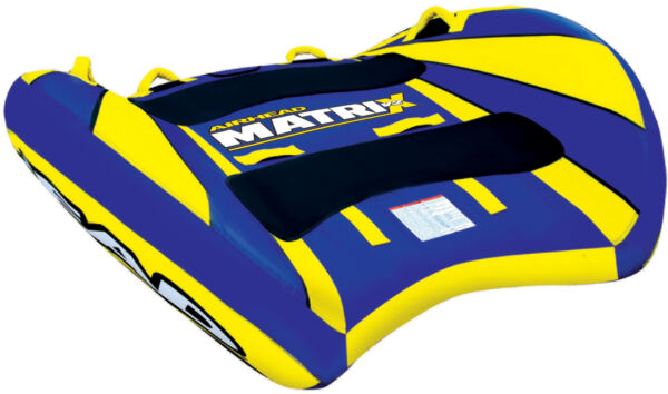 NEW AIRHEAD AHMX-V2 Matrix V2 Inflatable Double Rider Lake Water Towable Tube