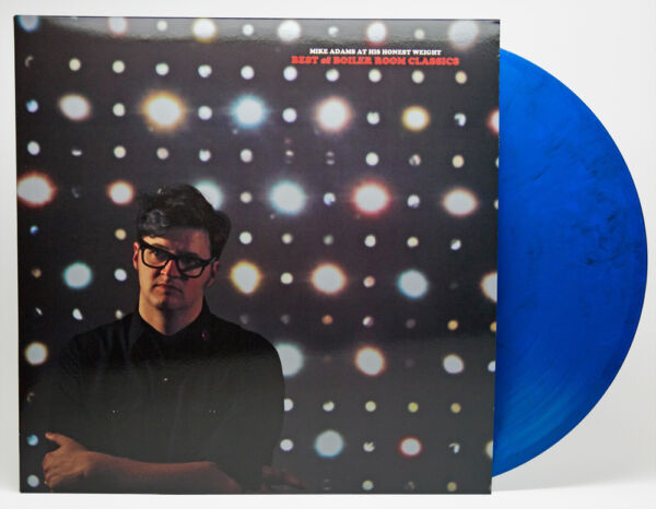 Mike Adams At His Honest Weight Best of Boiler Room BLUE VINYL LP Record