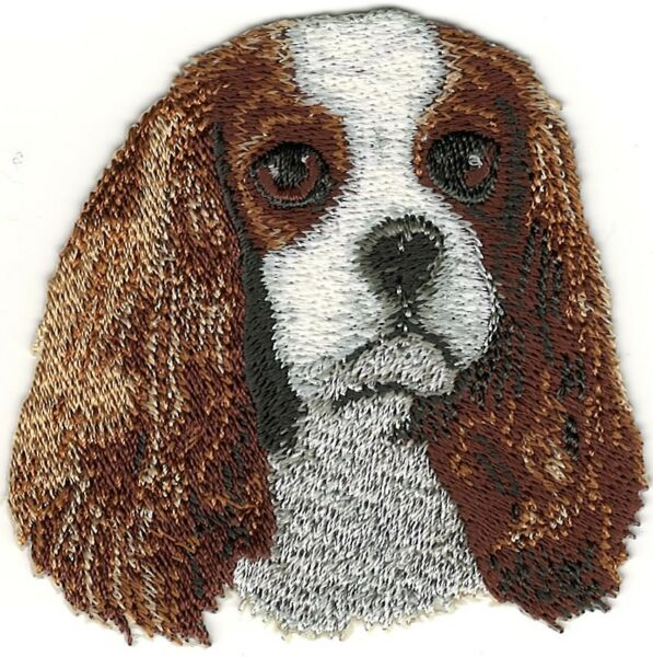 Cavalier King Charles Dog Breed Embroidery Patch $3.15