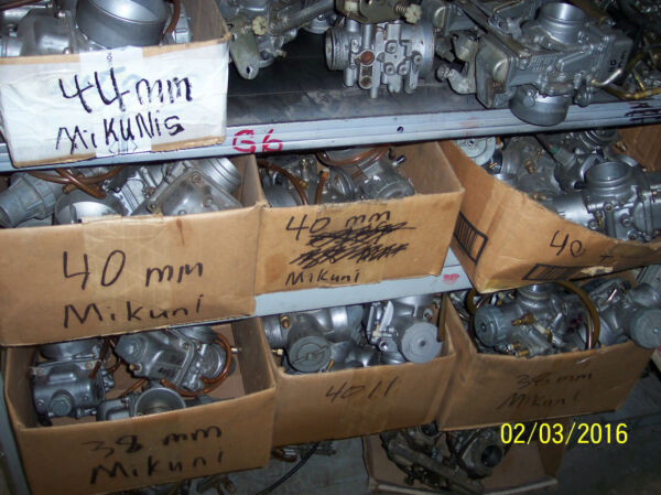 SNOWMOBILE Mikuni Carburetors for many years makes and models snowmobileS ONLY. $95.00