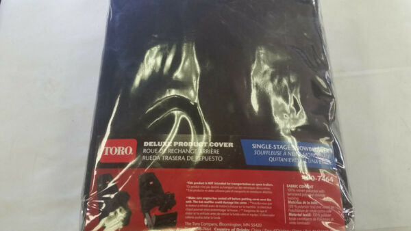 Toro 490-7464 Protective Cover Single Stage Snowblower Snow Blower Power Clear