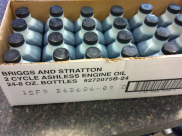 Briggs & Stratton Two-Cycle OIL MIX Case of 24  8 Ounce Bottles Snowblower