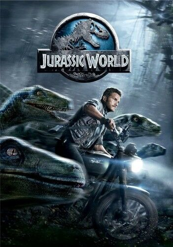 Jurassic World DVD 025192212192