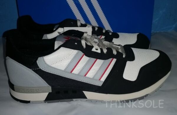 ADIDAS CONSORTIUM ZX 550 OG B35600 GREY RED BLACK RETRO TRAINERS