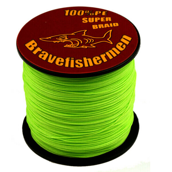 Top Green 100 1000M 6 300LB Super Strong PE Fishing Line