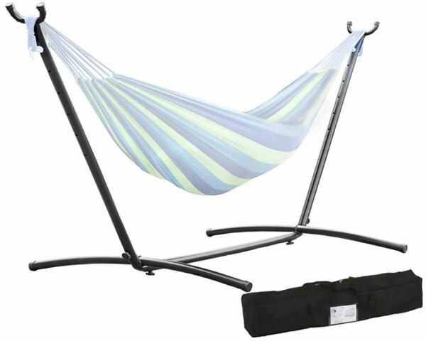 Hammock Stand 9#x27; Outdoor Patio Portable With Carry Case SD28 $75.99