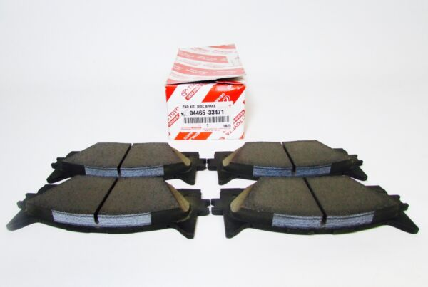 NEW GENUINE LEXUS ES300h & ES350 FRONT FACTORY OEM TOYOTA BRAKE PADS 04465-33471