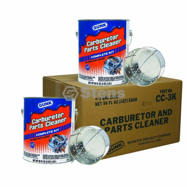 Stens 752 300 Gunk Carburetor and Parts Cleaner fits Four 1 gallon cans $152.39