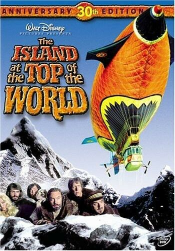The Island at the Top of the World New DVD Anniversary Ed $12.88