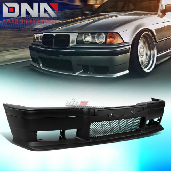 FOR 92 98 BMW E36 3SERIES 1PC M3 STYLE ABS FRONT BUMPER COVER BODY KITGRILLE $115.88
