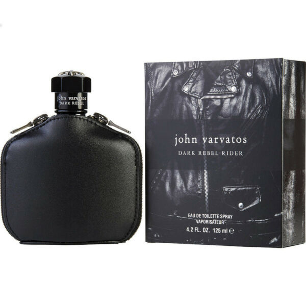 JOHN VARVATOS DARK REBEL RIDER Cologne 4.2 oz edt men New In Box