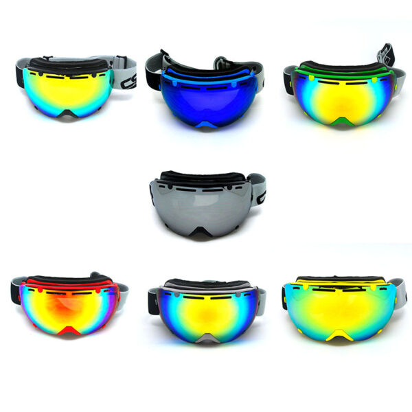 New Snow Snowboard Ski Goggle Anti Fog Detachable Dual Layer Double UV400 Lens