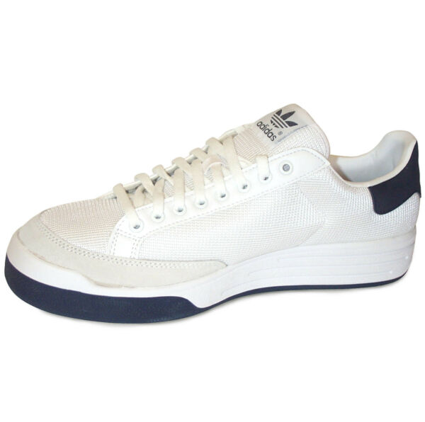 Adidas Rod Laver Super Tennis Shoes NIB Men's, White/Navy - Multiple sizes