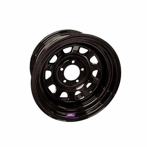 Bart Wheels D Trucker Black Steel Wheels 15