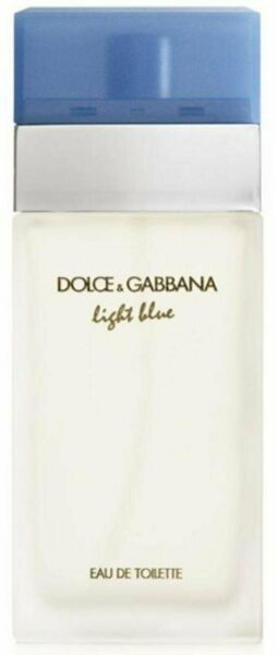 D amp; G Light Blue Dolce Gabbana Perfume 3.3 3.4 oz edt NEW tester WITH CAP