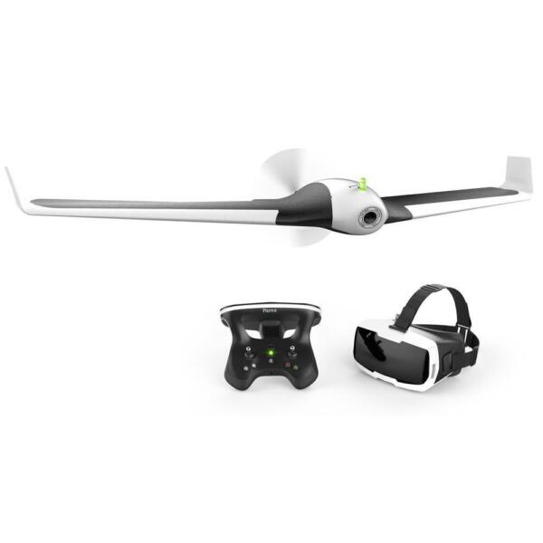 Parrot Disco Fixed-Wing Drone with FHD Camera, Skycontroller 2, Cockpitglasses